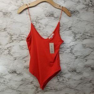 Gaze DTLA Women's Spaghetti Strap Body Suit S